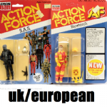 Action Force Action Figures